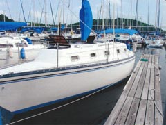 Hunter 33 sailboat