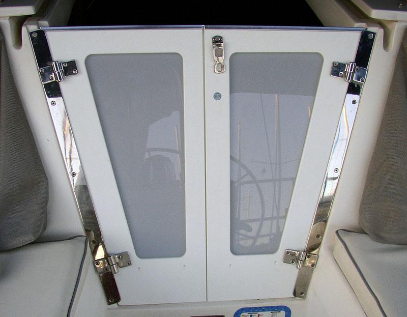 Companionway Doors on Catalina c310 2001 sailboat & Companionway Doors by Zarcor provides style comfort and convenience ...