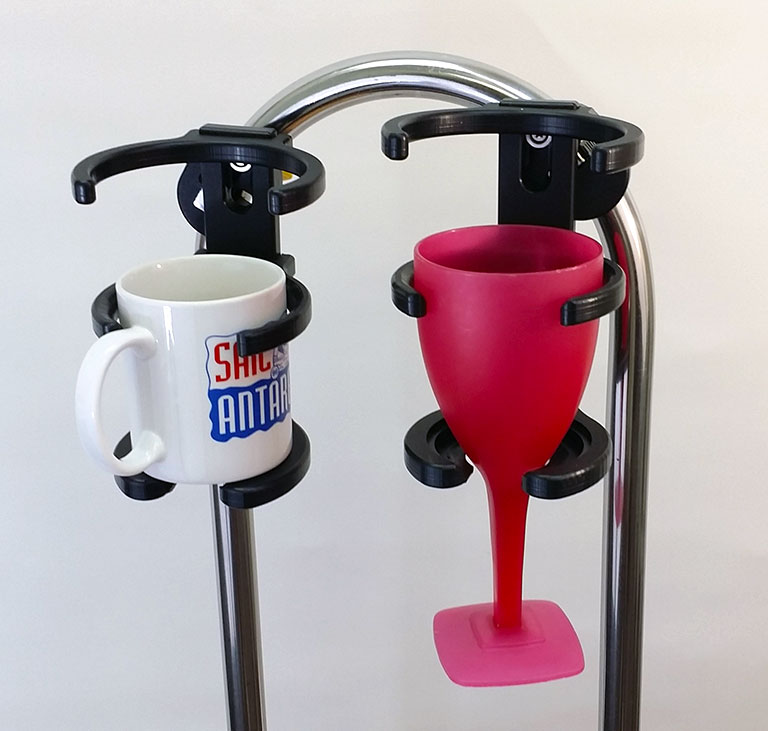 The Universal Tumbler Holder Will Hold Every Kind Of Wine