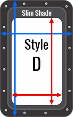 RV Door Window Shade   RV Door Window Shutter Kit   ZARCOR